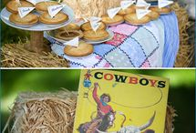 Cowboy and Indians Birthday party