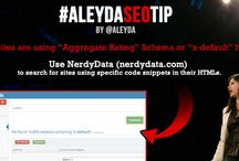 All the SEO tips from the #AleydaSEOtip series / #AleydaSEOtip is a series where I answer through posts, images or videos the SEO questions I receive via this form: https://aleydasolis.wufoo.com/forms/z1ybopvt11tk41q/