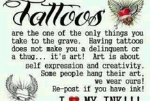 Tatted up / Tattoos I love like hate and aspire to get possibly one day / by Nina Rodriguez