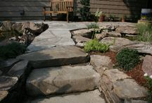 Natural Stone / Natural Stone work including Blue stone and natural rock