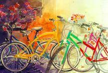 Для декупажа_велосипеды