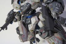 Gunpla Weathering Ideas / Gunpla weathering tips and tricks. Close-up views and detailed views