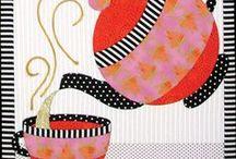 cafeteras en patchwork
