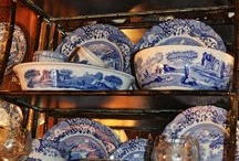 Blue and White Transferware / by Susan Freeman
