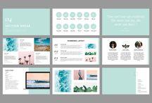 Design | Presentation / Inspiration to make great presentations for clients.