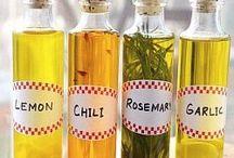 Настоянные оливковые масла