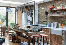 Quirky Kitchens / Something not quite so factory made.... An element of hand made ...