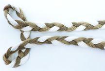 Textile Braids / #braided cords, #плетеные шнуры, бейки, ленты