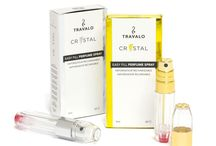 Travalo Crystal / With a transparent design, Travalo Crystal is stylish and chic, and you will always know when to refill your atomizer by just a glance!