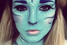 Halloween - Maquillage