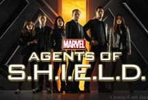 Agents of Shield - Marvel / This tv-show is really stunning to watch! These pins are  most about Agent Coulsons Team!