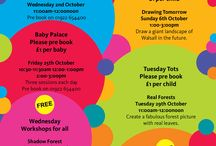 Family Workshops and Events October 2013 / Family Workshops and Events October 2013