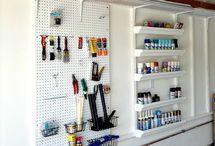 Garage organization / by Melissa Opsahl