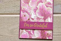 """Stamp:Etched Flower Background* / Handmade cards featuring the stamp """"Etched Flower Background by My Favorite Things."""