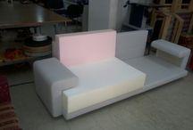 furniture restoration in Thessaloniki / Sofa living room renovation