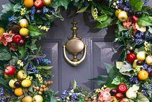 #door decorations - Türdekorationen