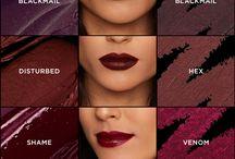 wine lipsticks