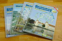 Gewässerkarten für Kanu, Kajak / Wasserwanderkarten Deutschlands für Kanufahrer + Kajakfahrer