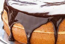 Cakes / Boston cream