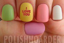 Nails! / A reason to buy more nail polish.