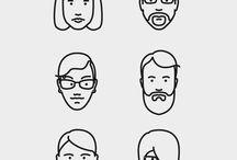Line Face
