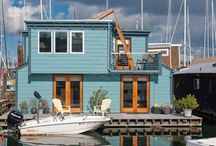Houseboats/Floating Homes / by Rosemarie Anhalt