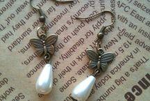 orecchini filigrana e perla