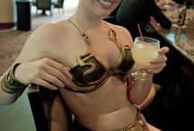 Cosplay. Slave Leia