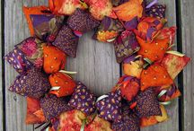 20 Autumn Front Door Wreath Decoration Ideas / 20 Autumn Front Door Wreath Decoration Ideas