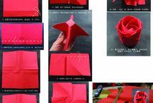 折り紙バラ