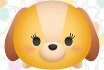 Tsum tsum and Ufufy