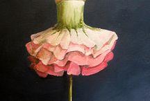 юбка Цветок / подражаем природе