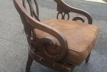 Refurbishing furniture