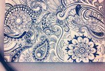 Doodling/ Mandala