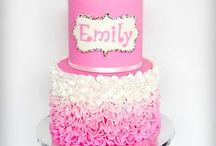 Bailey's 7th Birthday Inspiration / This board is create ideas for design and inspiration for a 7th birthday gymnastics themed cake!