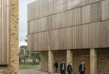 Архитектура | фасад | рейки