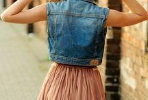Shirts, shorts and skirts...**