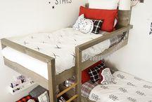 poschodie postele