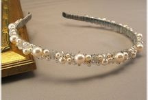 čelenky, šperky do vlasů