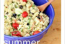 Pasta salad / by Meagan Strunk