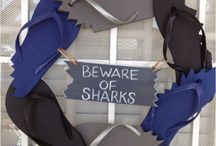 SHARK WEEK PARTY!! / Shark festivities!  / by Lara Gallacher