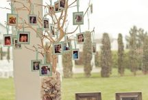 family photos display