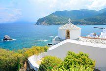 Skopelos / Did you know that 80% of Skopelos is covered by forests? Το ξέρατε οτι η Σκόπελος είναι γεμάτη δάση που καλύπτουν σχεδόν το 80% της έκτασής της; http://bluetravels.co.uk/portfolio/skopelos/
