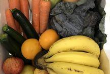 Organic fruit and vegetables home delivered