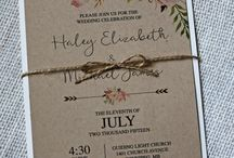 Save-the-Dates, Invitations and Thank You Cards
