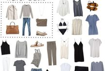 Capsule wardrobe - sunny holiday