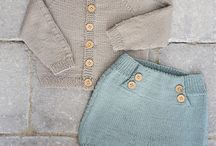 strikket babytøy