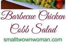 Recipes / BBQ Chicken Cobb Salad