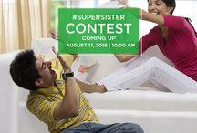 #SuperSister Contest / To celebrate the bond between a brother and sister, M3M is running a contest.