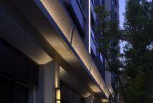 Фасады - современное освещение